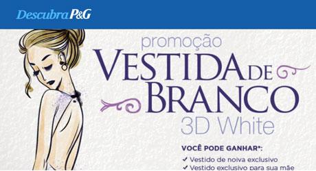 Promoção P&G Vestida de Branco