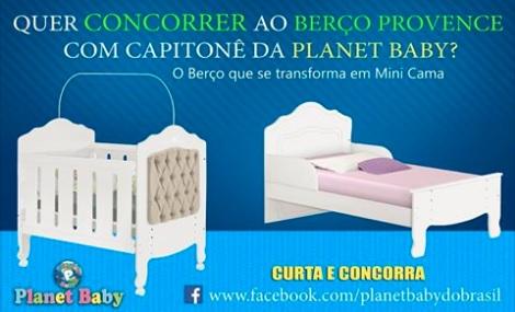 Promoção Planet Baby Quer concorrer a este lindo berço