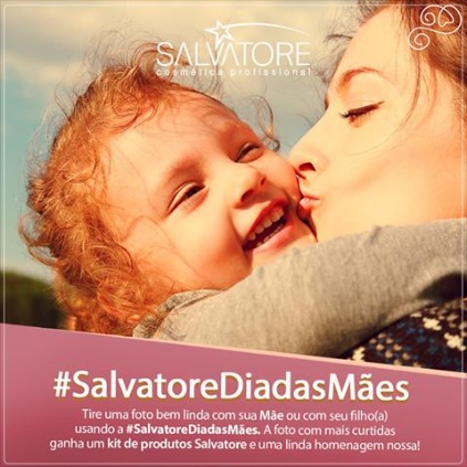 Promoção Salvatore Cosmética Profissional Dia das Mães