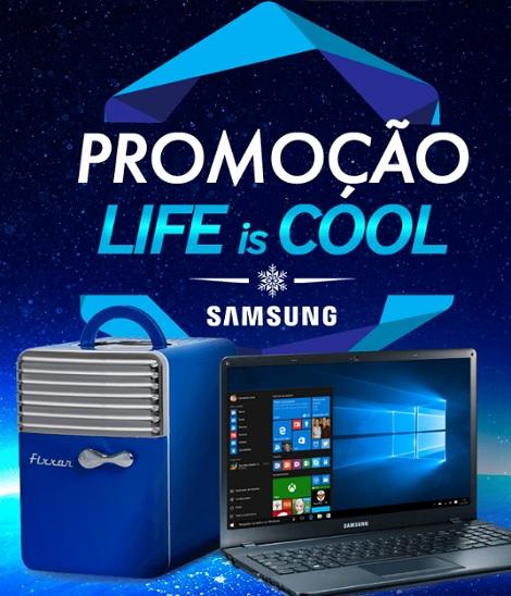 Promoção Samsung Life is Cool