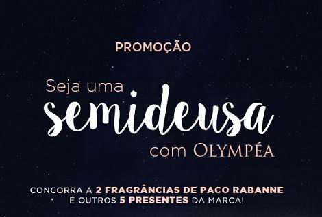 Promoção Sépha Seja uma Semideusa com Olympéa