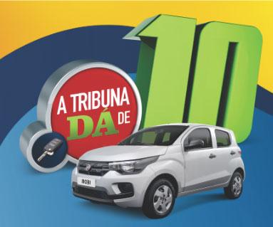 Promoção Jornal A Tribuna dá de 10