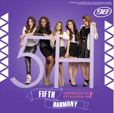 Promoção 98 FM Fifth Harmony