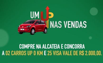 Promoção Alcateia Um Up nas vendas