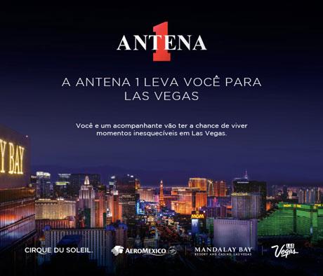 Promoção Antena 1 Leva você para Las Vegas