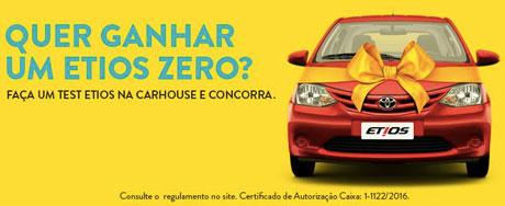 Promoção CarHouse Toyota Test Drive