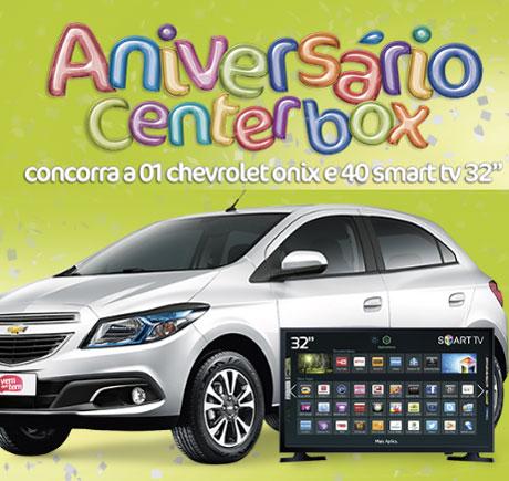 Promoção Aniversário Centerbox
