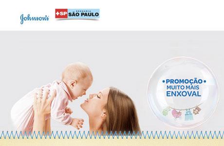 Promoção Johnsons e Drogaria São Paulo Muito Mais Enxoval