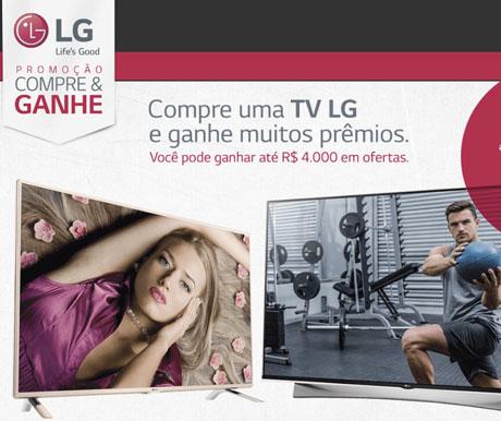 Promoção TV LG Que Dá Prêmios