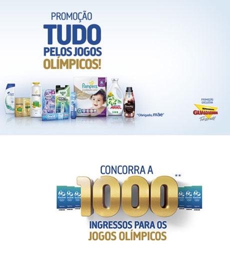 Promoção P&G e Guanabara Tudo Pelos Jogos Olímpicos