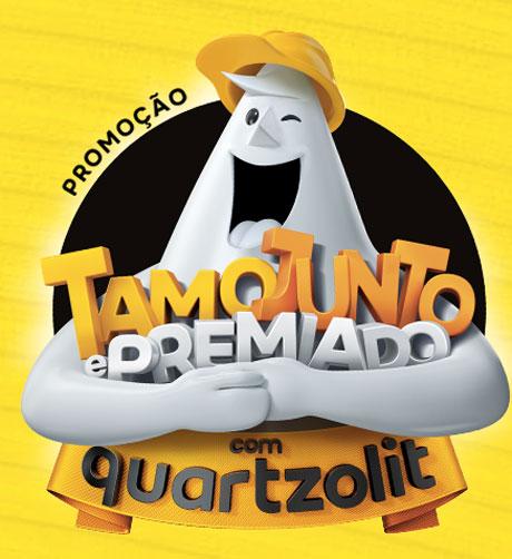 Promoção Quartzolit Tamo Junto e Premiado