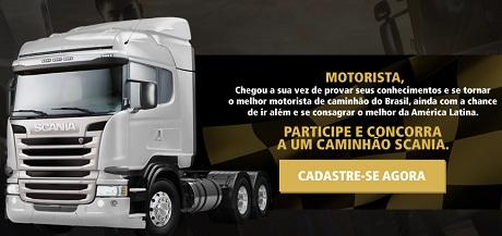 Promoção Scania Driver Competitions