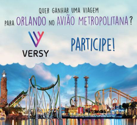 Promoção Quer Ganhar uma Viagem para Orlando no Avião Metropolitana?