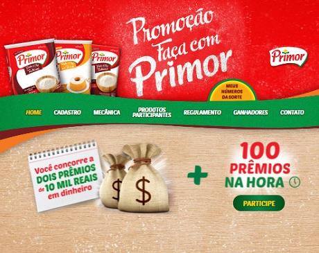 Promoção Faça com Primor