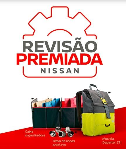 Promoção Revisão Premiada Nissan