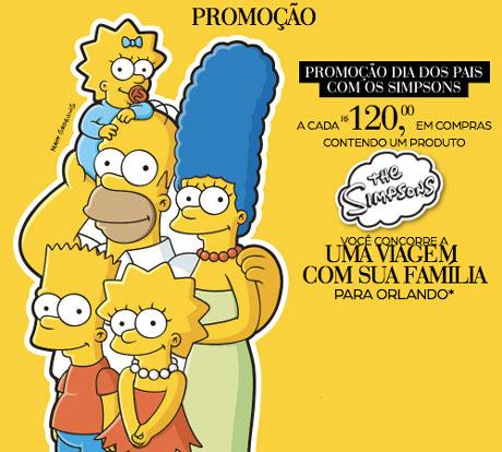 Promoção Riachuelo Dia dos Pais com os Simpsons