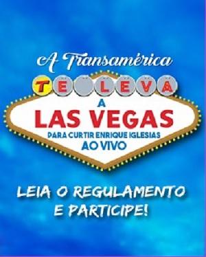 Promoção Transamérica Enrique Iglesias em Las Vegas