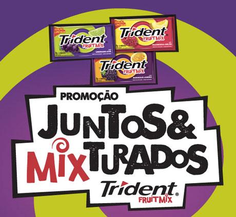 Promoção Trident Juntos & Mixturados
