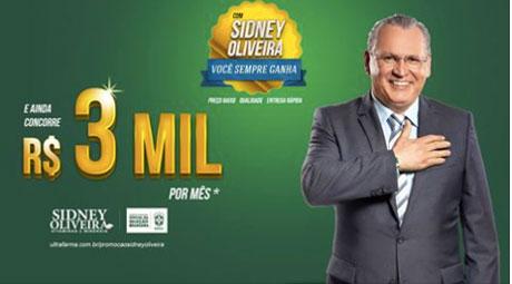 Promoção Ultrafarma Com Sidney Oliveira você sempre ganha