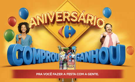 Promoção Aniversário Carrefour