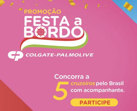 Promoção Colgate e Carrefour Festa a Bordo