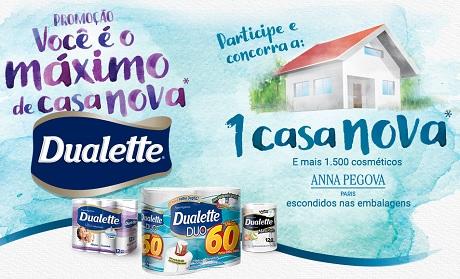 Promoção Dualette Você é o Máximo de Casa Nova