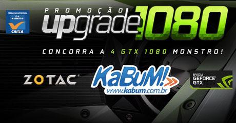 Promoção Kabum Upgrade 1080