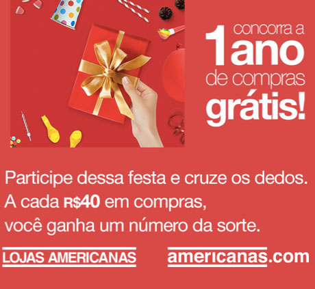 Promoção Aniversário das Lojas Americanas e Americanas.com
