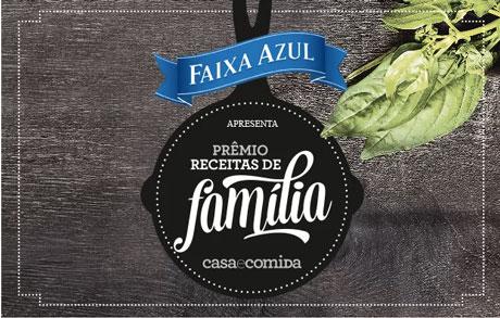 Promoção Revista Casa e Comida Prêmio Receitas de Família