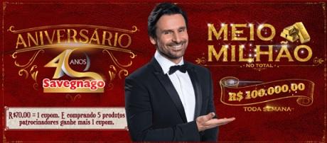 Promoção Aniversário 40 Anos Savegnago Supermercados