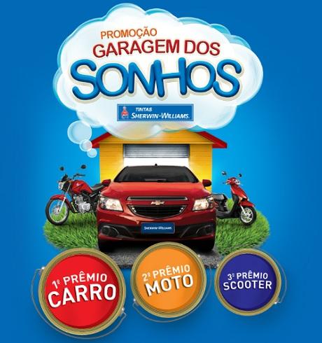 Promoção Sherwin-Williams Garagem dos Sonhos