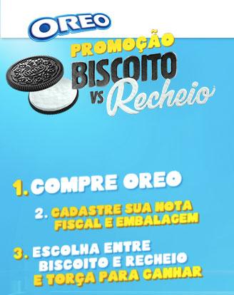 Promoção Oreo Biscoito Vs Recheio