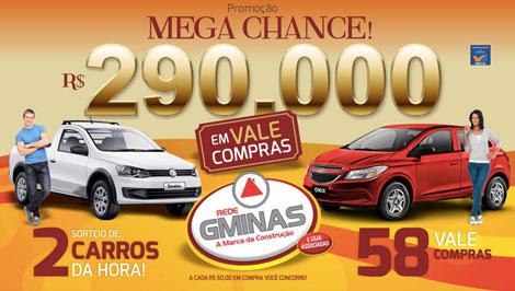 Promoção Rede GMinas Mega Chance