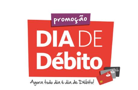 Promoção Santander Dia de Débito
