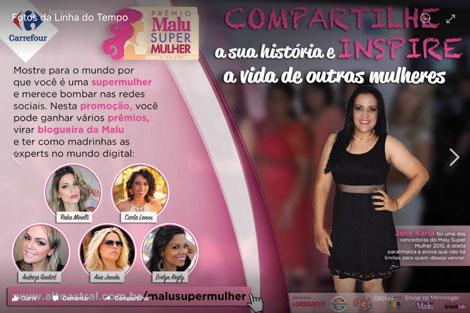 Promoção Editora Alto Astral Malu Super Mulher 2016
