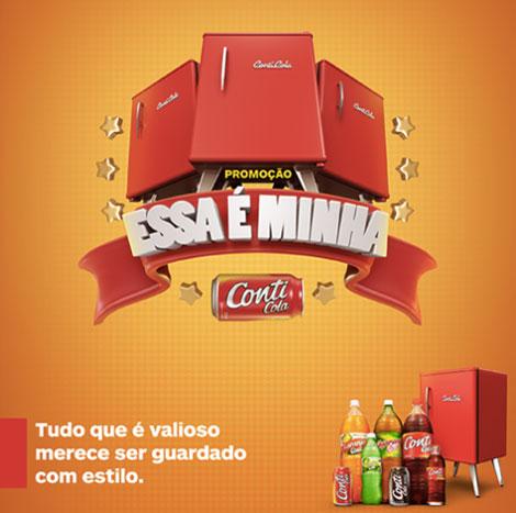 Promoção Essa É Minha Conti Cola