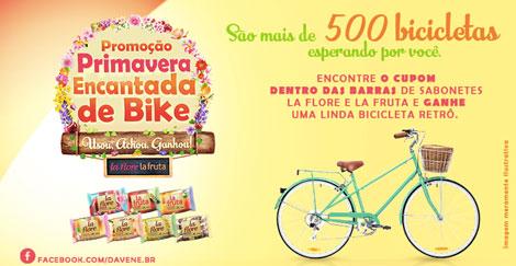 Promoção Davene Primavera Encantada de Bike