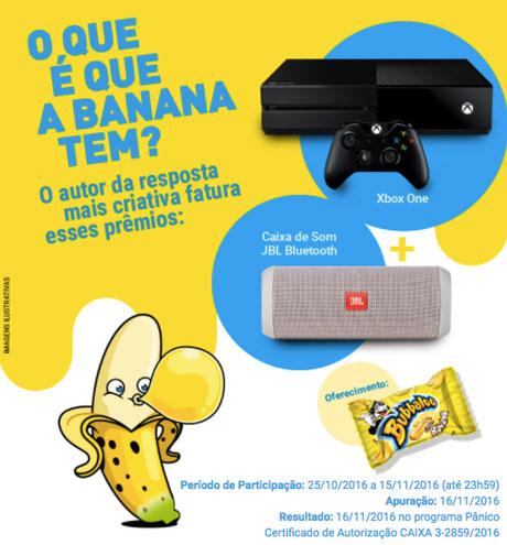 Promoção Jovem Pan O que é que a Banana tem?