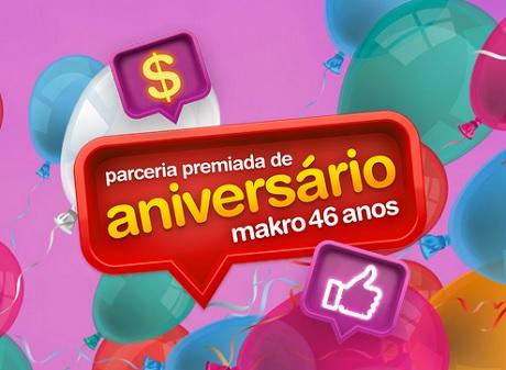 Promoção Parceria Premiada de Aniversário Makro