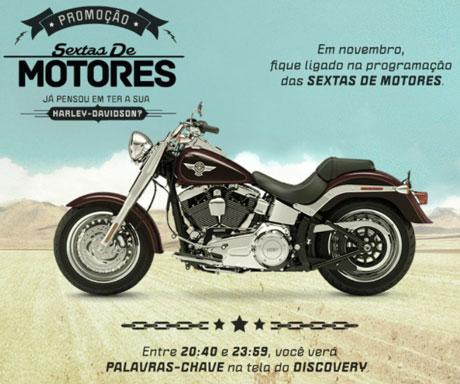 Promoção Discovery Sextas de Motores