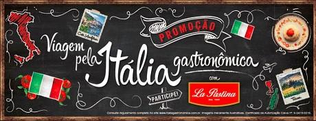 Promoção La Pastina Viagem Itália Gastronômica