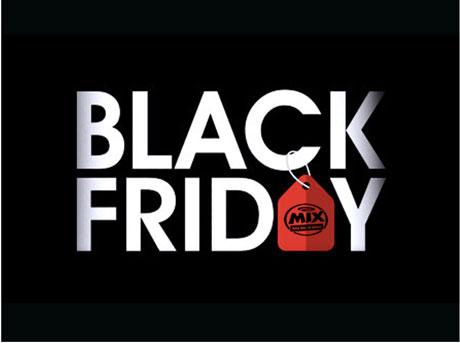 Promoção Black Friday na Mix FM