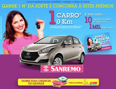 Promoção Sanremo Esse já é Meu