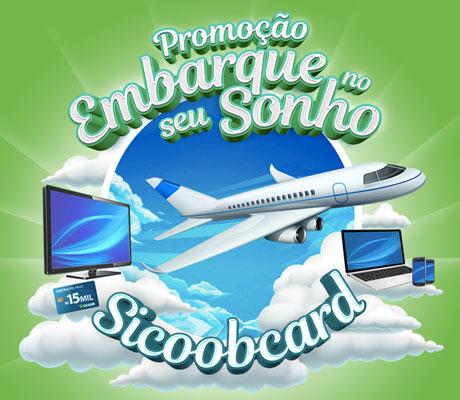 Promoção Embarque no seu sonho Sicoobcard