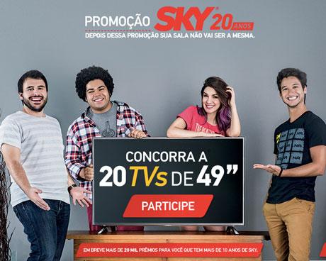 Promoção Sky 20 Anos
