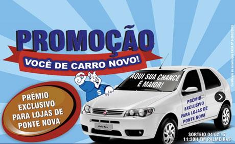 Promoção Supermercados Poupy Você de Carro Novo