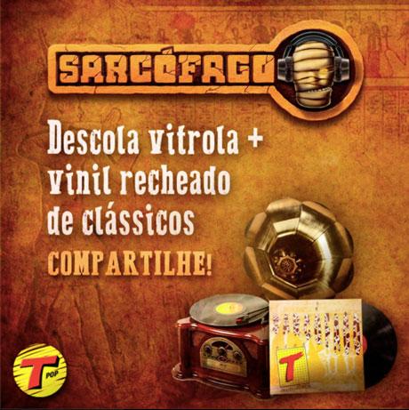 Promoção Transamérica FM Sarcófago