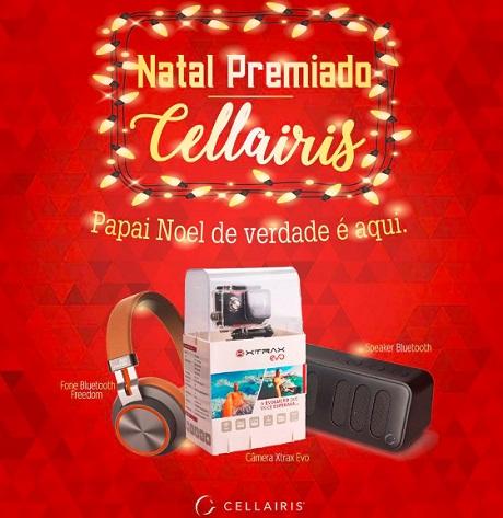 Promoção Natal Premiado Cellairis