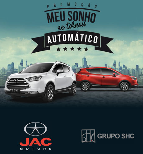 Promoção Jac Motors Meu Sonho Se Tornou Automático