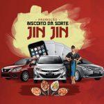 Promoção Biscoito da Sorte Jin Jin